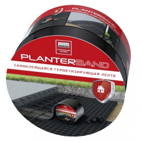 Лента герметизирующая Технониколь Planterband 10м х 10 см х 1,5 мм
