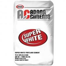Цемент Adana М-500 Д0 белый 50 кг
