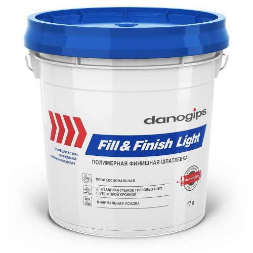 Шпатлевка Danogips Sheetrock Fill&Finish Light 17 л