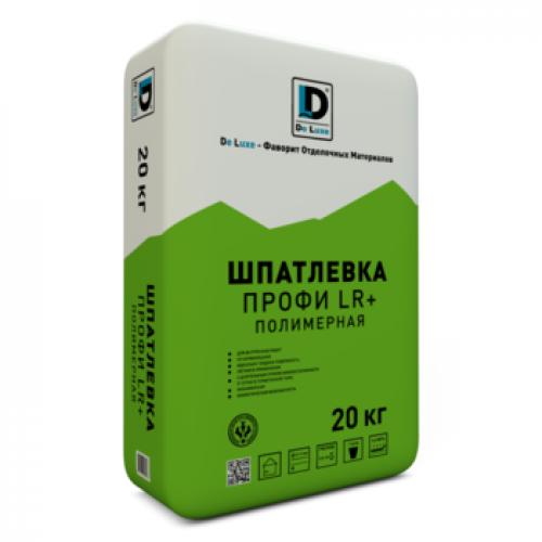 Шпатлевка полимерная De Luxe Профи LR+ 20 кг