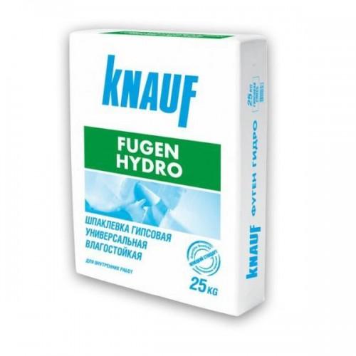 Шпатлевка гипсовая влагостойкая Кнауф Фуген Гидро 25 кг