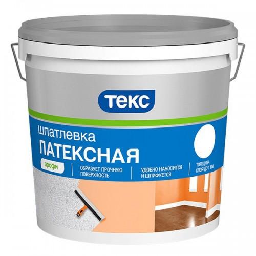 Шпатлевка латексная Текс Профи 1,5 кг