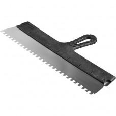 Шпатель зубчатый Зубр Мастер 10078-45-8 450 мм зуб 8х8 мм