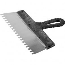 Шпатель зубчатый Зубр Мастер 10078-30-08 300 мм зуб 8х8 мм