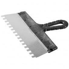 Шпатель зубчатый Зубр Мастер 10078-30-10 300 мм зуб 10х10 мм
