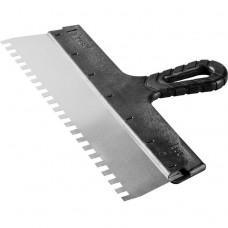 Шпатель зубчатый Зубр Мастер 10078-35-8 350 мм зуб 8х8 мм