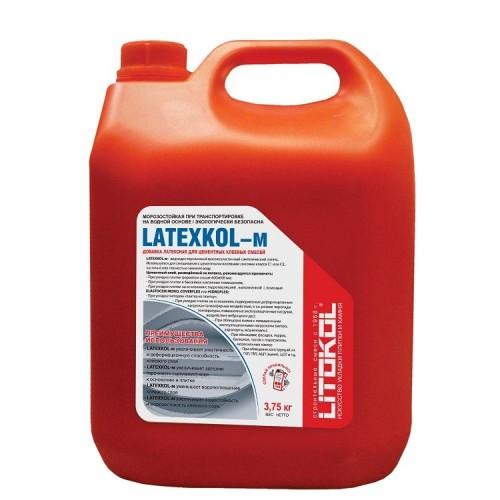 Добавка латексная для клея Litokol Latexkol-m 3,75 кг