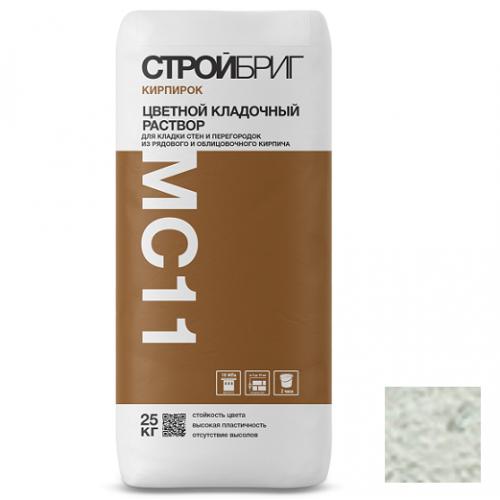 Раствор кладочный Стройбриг Кирпирок MC11 010 белый 25 кг