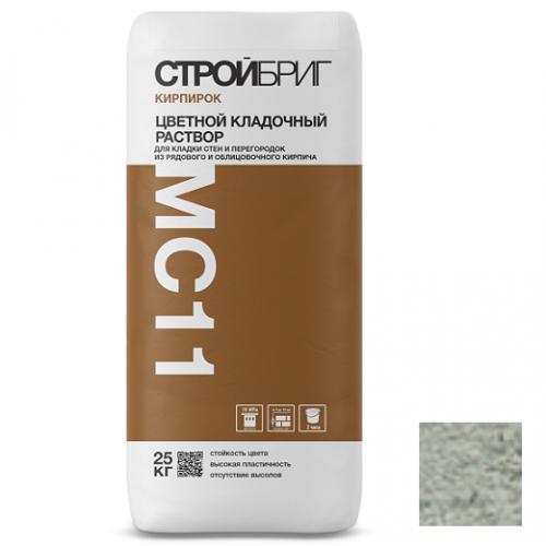 Раствор кладочный Стройбриг Кирпирок MC11 021 светло-серый 25 кг