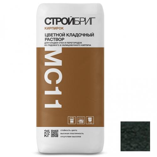 Раствор кладочный Стройбриг Кирпирок MC11 023 графит 25 кг