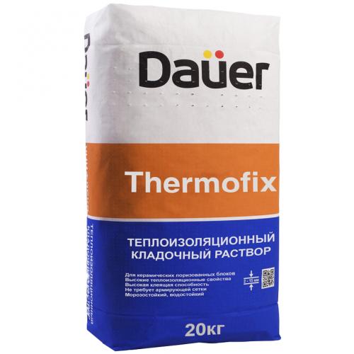 Раствор кладочный теплоизоляционный Dauer Thermofix 20 кг