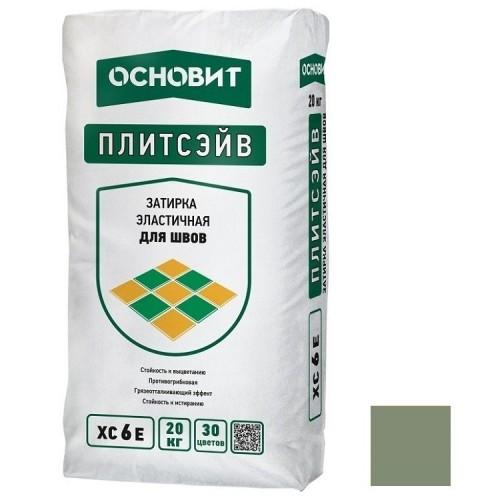 Затирка эластичная для швов Основит Плитсэйв XC6 Е Нефритовая 054 20 кг