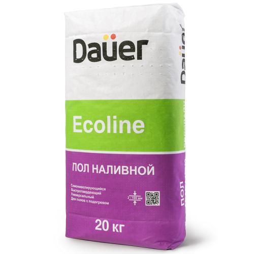 Пол наливной Dauer Ecoline 20 кг быстротвердеющий