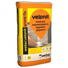 Клей для керамогранита Weber.Vetonit Granit Fix 25 кг