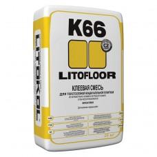 Клей для плитки Litokol Litofloor K66 25 кг