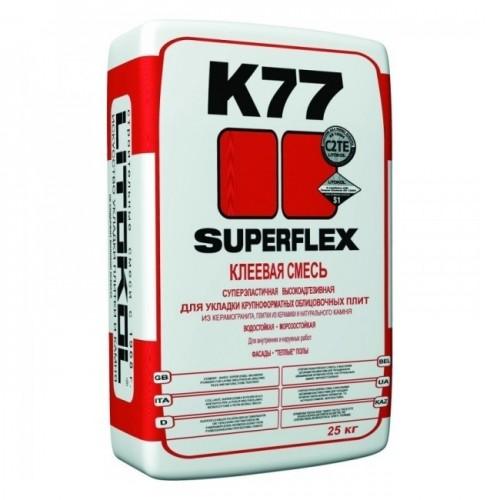 Клей для плитки Litokol SuperFlex K77 25 кг