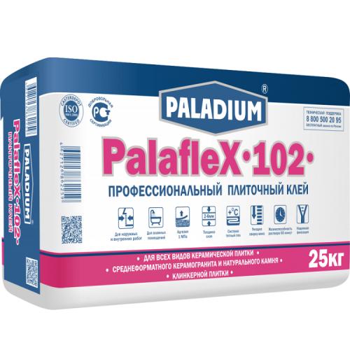 Клей для плитки Paladium PalafleX-102 профессиональный 25 кг
