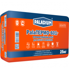 Клей для плитки Paladium PalaTermo-601 термостойкий 25 кг