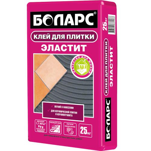 Клей для плитки Боларс Эластит 25 кг