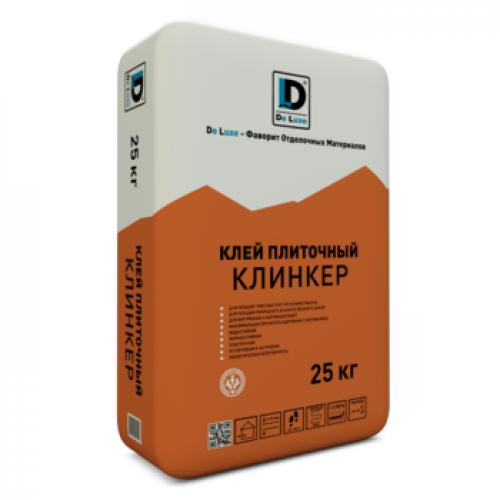 Клей плиточный De Luxe Клинкер 25 кг