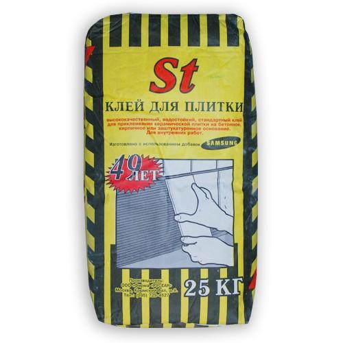 Клей для плитки Русеан St 25 кг