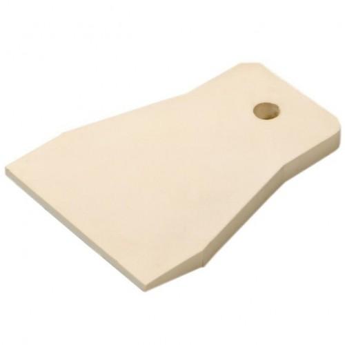 Шпатель резиновый USP 06885 белый 80 мм