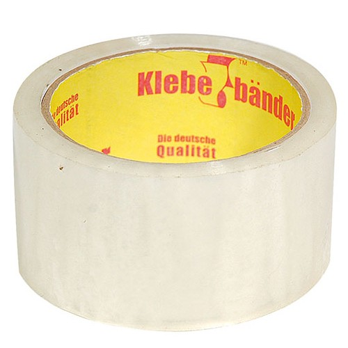 Лента клейкая Klebebander прозрачная 42000х50x0,04 мм