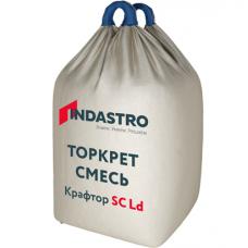 Торкрет смесь Индастро Крафтор SC20 D LD полимерная фибра 1000 кг