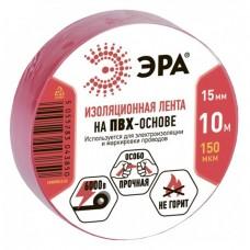 Изолента ПВХ Эра 43867/43850 15 мм красная 10 м