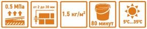 Клей гипсовый Основит Гипсформ MG115 20 кг